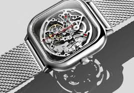 XIAOMI MI CIGA Design Hollowed-out Mechanical Watch Chinese ...