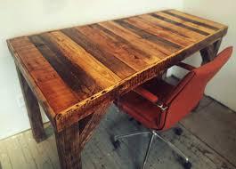 pallet desk reclaimed wood furniture fringe focus awesome custom reclaimed wood office desk