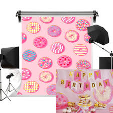 Kate 5x7ft/1.5m(W) x2.2m(H) <b>Donut</b> Backdrop <b>Donut</b> Birthday Party ...