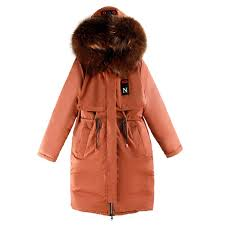 2019 <b>Brieuces</b> 2018 Fur Hooded <b>Woman Winter Jacket Women'S</b> ...