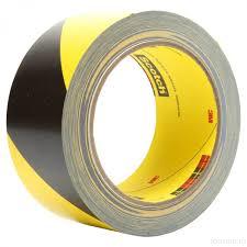 Купить Желто черная <b>лента</b> для разметки <b>3M</b>™ <b>5702</b> (50 мм Х 33 ...