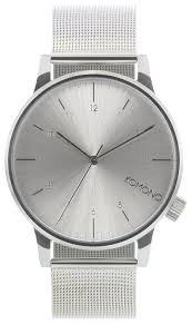 Наручные <b>часы KOMONO Winston</b> Royale Silver — купить по ...