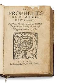 「Les Prophéties de M. Michel Nostradamus」の画像検索結果