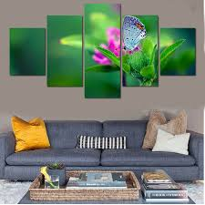 living room plants art prints paint