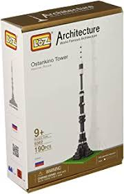Ostankino Tower - Building & Construction Toys: Toys ... - Amazon.in