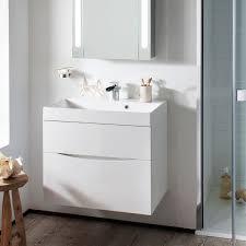 rhodes pursuit mm bathroom vanity unit: bauhaus glide ii  wall hung vanity unit with basin