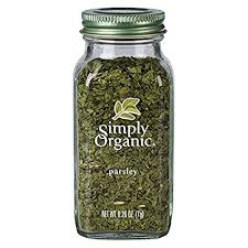 Simply Organic Parsley Flakes, Cut & Sifted, Certified ... - Amazon.com