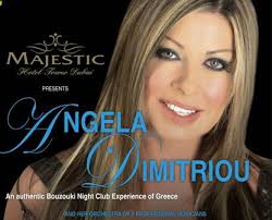 Angela Dimitriou in Majestic Hotel Dubai. Table: 650 dhs per person including food (starters, salads, main courses, fruits) - angela-dimitriou-2009