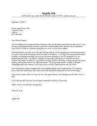 consultant cover letter cover letter junior travel consultant resume