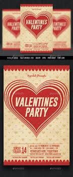 valentine party flyer templates for next valentine day valentines party flyer