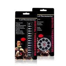 thermometer temperature sticker