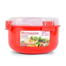 <b>Контейнер круглый MICROWAVE</b>, Sistema, 915 мл - купить c ...