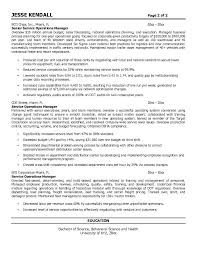 resume transportation operations manager resume director of resume objective examples logistics example service operations manager