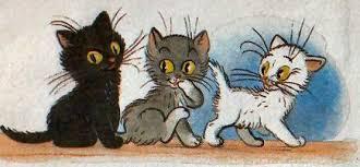 """Képtalálat a következőre: """"fekete fehér kiscicák"""""""