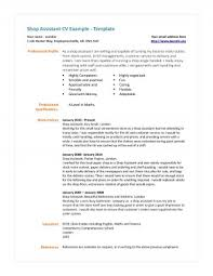 quotes about good assistants  quotesgramretail cv template  s environment  s assistant cv shop work