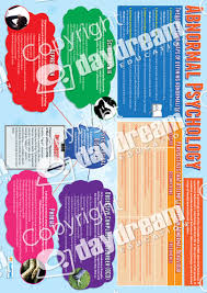 abnormal psychology educational psychology poster abnormal psychology poster