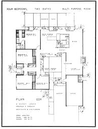 Eichler   The House   Floor PlanEichler floor plan