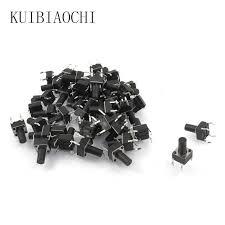 <b>100PCS</b>/LOT Mini Micro <b>Momentary</b> Tactile <b>Push Button Switch</b> 6*6 ...