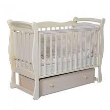 Детская <b>кроватка Антел Julia 1</b> маятник универсальный ...