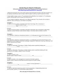 Download Objective For A Resume Haadyaooverbayresort Com