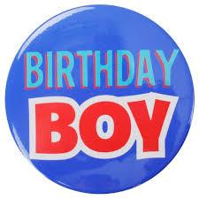 <b>Birthday Boy</b> Blue Button - Spritz™ : Target