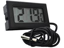 Digital <b>Electronic Thermometer LCD 1m</b> cable - AD40 <b>1m</b> ...
