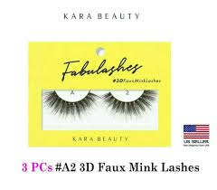 Купить 3 PCs Kara Beauty <b>FABULASHES</b> 3D Faux Mink на eBay ...