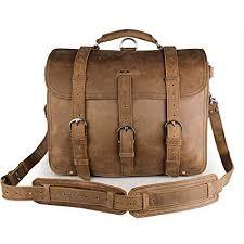 Men's Shoulder Bags Leather <b>Retro Crazy Horse Leather</b> Tote Bag ...