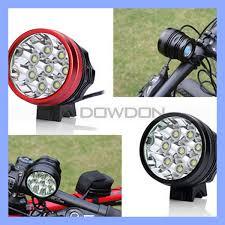 China CREE T6 <b>12000lm</b> Rechargeable 8 LED Bike Front <b>Light</b> ...