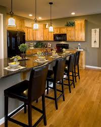 wall color ideas oak:  rosemary lane kitchen inspiration gray paint color with honey oak cabinets