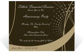 beautiful corporate holiday party invitation e card design sample general invitation nice brown background corporate anniversary invitation e card design sample for company