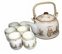 """«<b>Чайный набор</b> """"Лошадь"""" чайник 0,8 <b>л</b> и шесть чашек Чайная ..."""