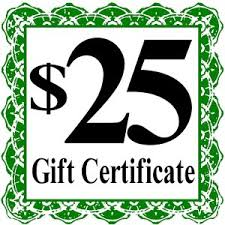 Image result for twenty five dollar gift voucher