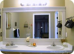 update bathroom mirror: how to frame your bathroom mirrors beach inspired bathroom