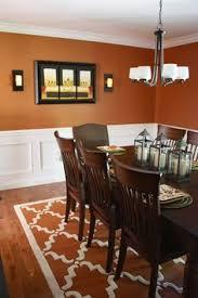 ideas burnt orange: burnt orange dining room  burnt orange dining room
