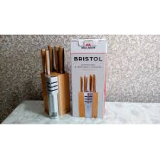 """Отзывы о <b>Набор ножей</b> в подставке с точилкой <b>Walmer</b> """"Bristol"""""""