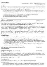 CVs and applications Chronological CV