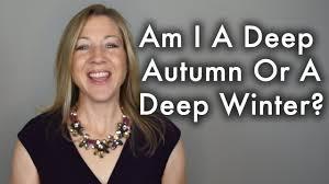 Q&A - Am I A Deep <b>Autumn</b> or Deep <b>Winter</b>? - YouTube