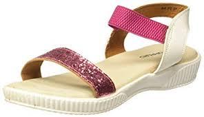 Poppers by Pantaloons Girl's <b>Fuchsia Fashion</b> Sandals-1 Kids UK ...