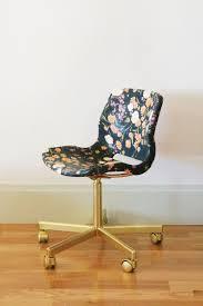 ikea chair office. diy fabric decoupaged office chair little green notebook modge podge ikea r