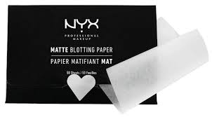<b>NYX</b> Матирующие <b>салфетки</b> Matte Blotting Paper 50 шт. — купить ...
