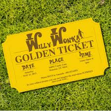 willy wonka golden ticket party invitations from sunshineparties willy wonka golden ticket party invitations from sunshineparties on willywonka goldenticket