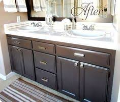 painted bathroom cabinets painted bathrooms and bathroom cabinets on pinterest brown bathroom furniture