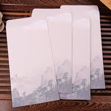 <b>10pcs</b> lot Chinese Style Business Envelope <b>Flower Printed Craft</b> ...