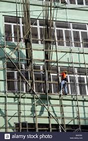 scaffold builder stock photos scaffold builder stock images alamy bamboo scaffolding used in building and construction in hong kong stock image