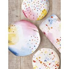 Купить <b>Тарелка закусочная Брызги</b> красок от Easy Life арт. EL ...