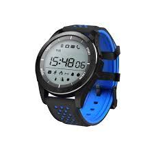 <b>Умные часы NO.1 F3</b> черно-синие купить в интернет-магазине ...