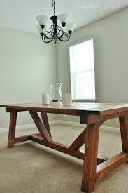 Dining Room Table Plans 1000 Ideas About Diy Farmhouse Table On Pinterest Farmhouse