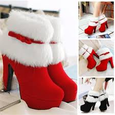 New Arrival <b>Womens Winter</b> Fashion Ankle Red <b>Suede Fur</b> Booties ...