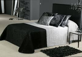 bedroom with black and white home attractive cheap black white and silver bedroom bedroom ideas black